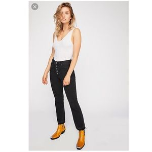 NWT Free People Dylan high rise bootcut jeans